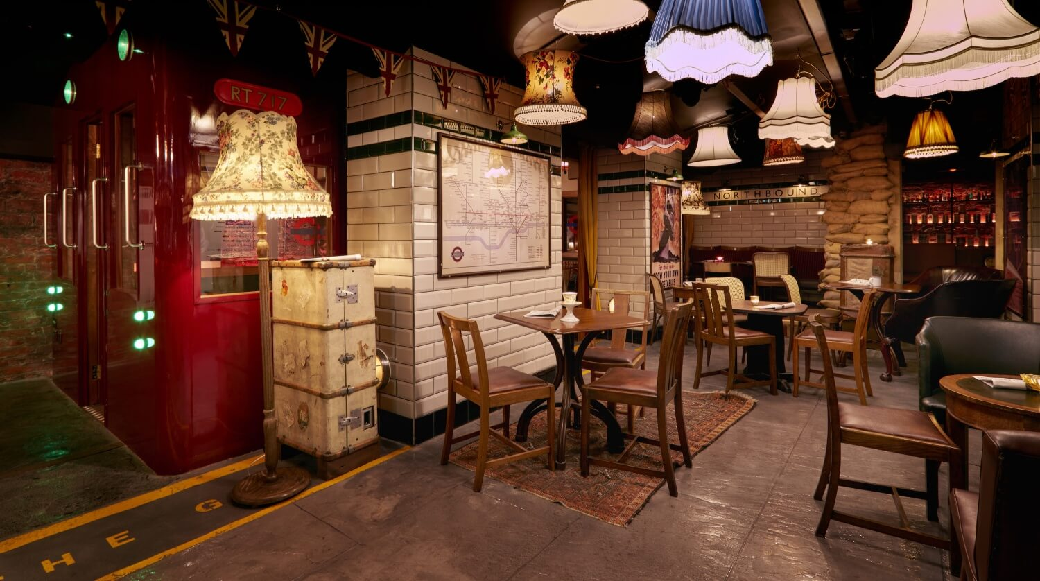 Cahoots Bar London — Cahoots: Let's Party Like It's 1946