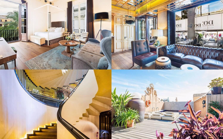 Hotel DO Plaça Reial Barcelona — Five Luxury Boutique Hotels in Barcelona