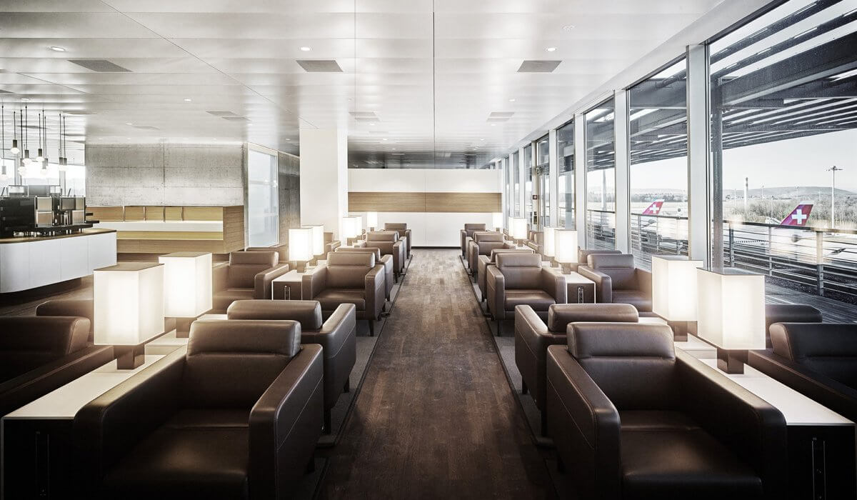 Swiss Panoramic Business Lounge at Zurich Airport