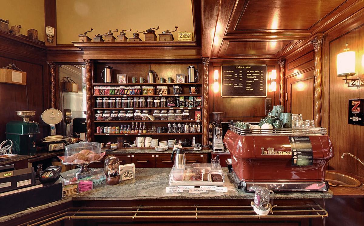 Zoégas Coffee Shop — Time Travel: Zoégas Coffee Shop